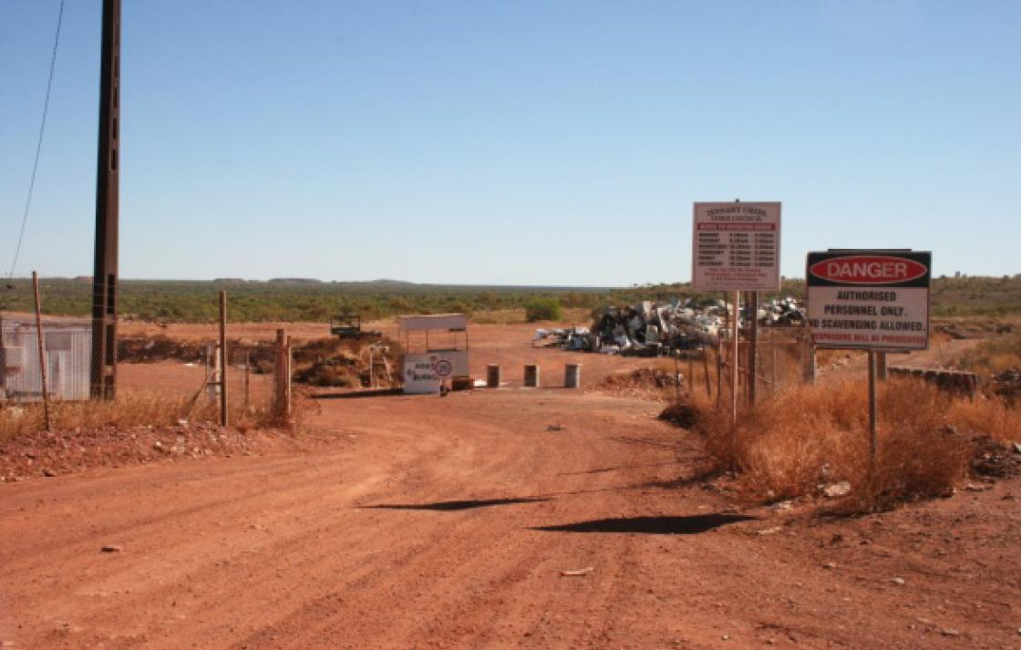 House fly testing site, Tennant Creek, Northern Territory