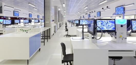 UTS superlab interior
