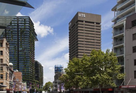 The UTS tower at Broadway