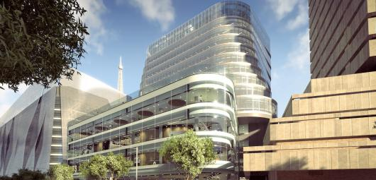 The new building at UTS