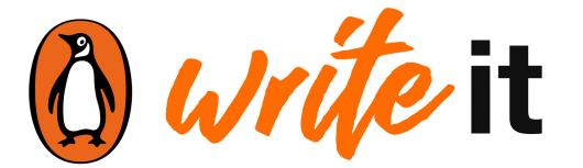 Penguin Random House logo with text 'Write It'