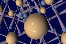 A computer generated model of a designer molecule