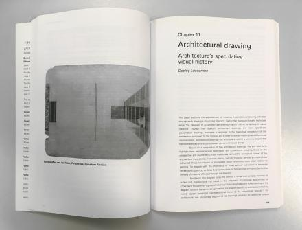 DAB Staff Project: Architectural Drawing: Architecture's Speculative History, by Desley Luscombe