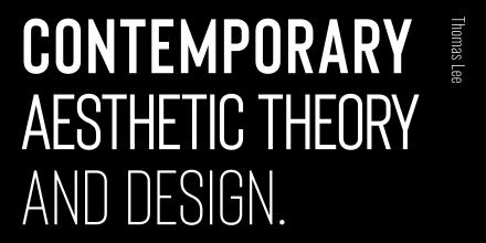 Staff work, Contemporary Aesthetic Theory and Design