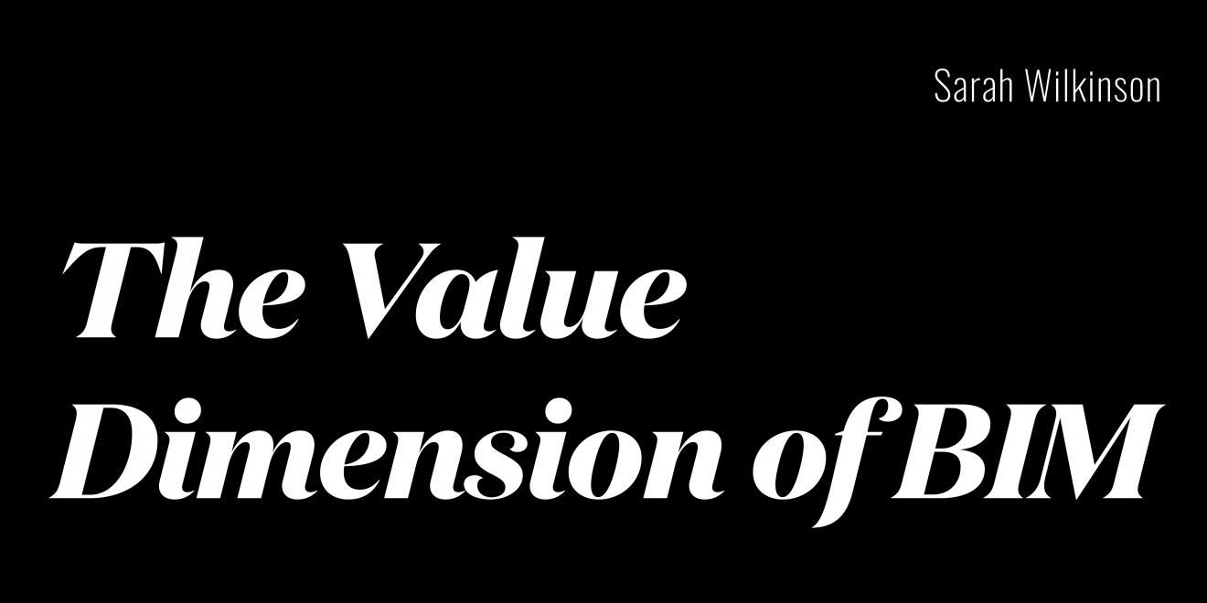 DAB Staff project, The Value Dimension 0f BIM