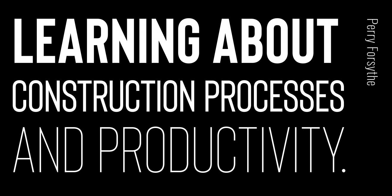 DAB Student Project: Learning about Construction Processes and Technology, by Perry Forsythe