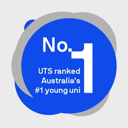 UTS ranked Australia's number 1 young uni tile