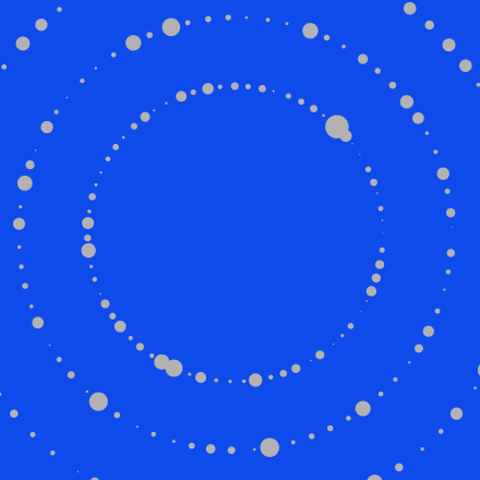 section tile blue dots circle