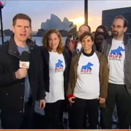 Ruff Sleepers on Sunrise