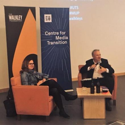 Katharine Murphy in conversation with Peter Fray