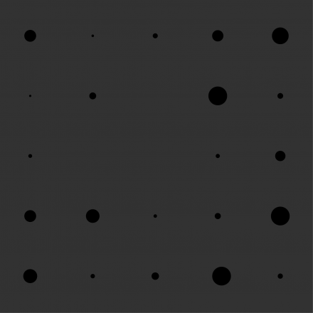 section tile of black circles
