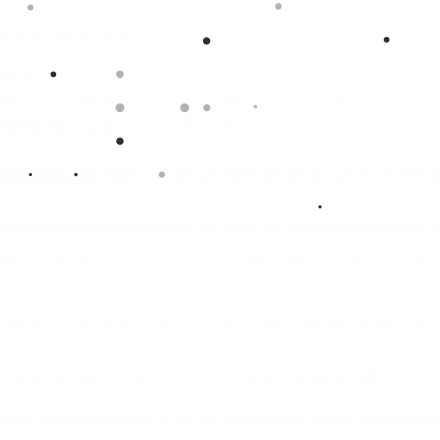 Pattern of grey dots on a white background