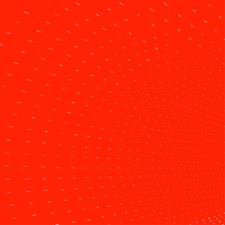Grey dots on a red background
