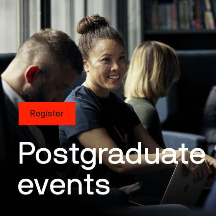 Register Postgraduate events