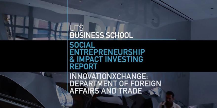 Social Entrepreneurship and Impact Investing Report