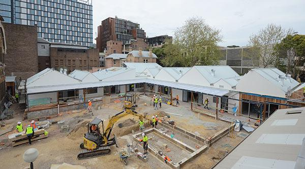 Childcare centre construction site