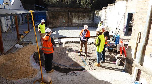 Blackfriars Children's Centre construction works