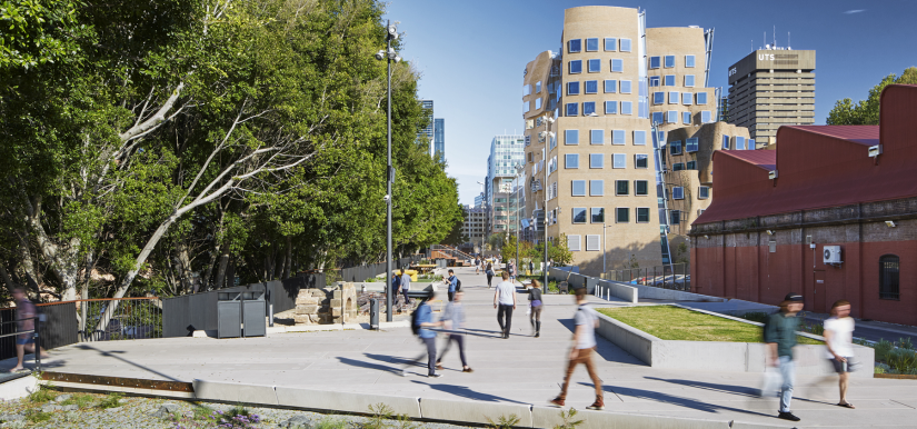 The Goods Line and UTS Business School