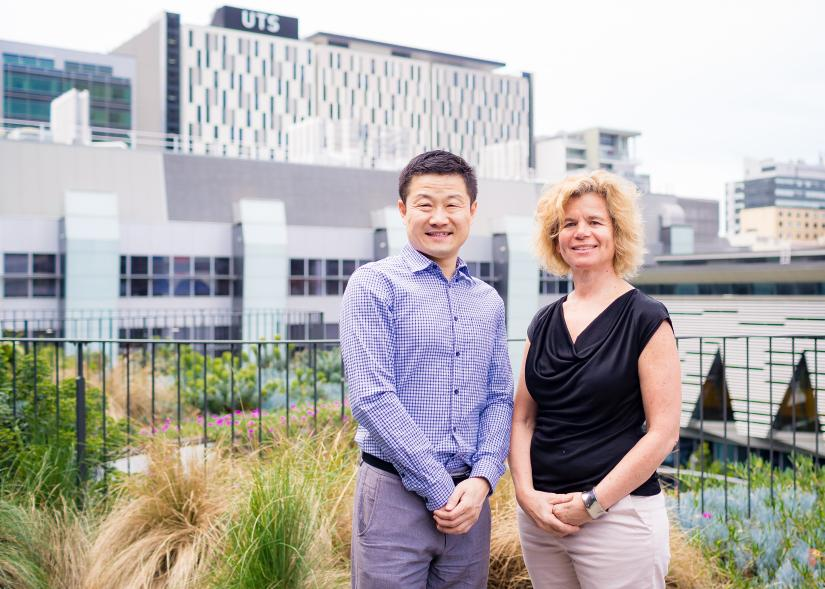 Professor Dayong Jin and Professor Alaina Ammit