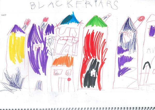 Blackfriars Children's Centre children's artwork