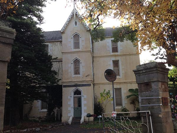 Main building of Parramatta Girls Home within the Precinct.