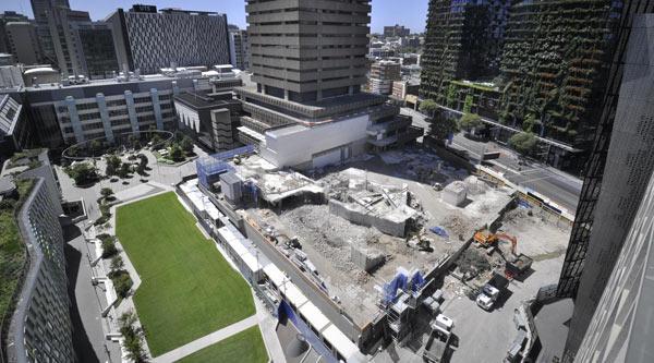 Building 2 demolition