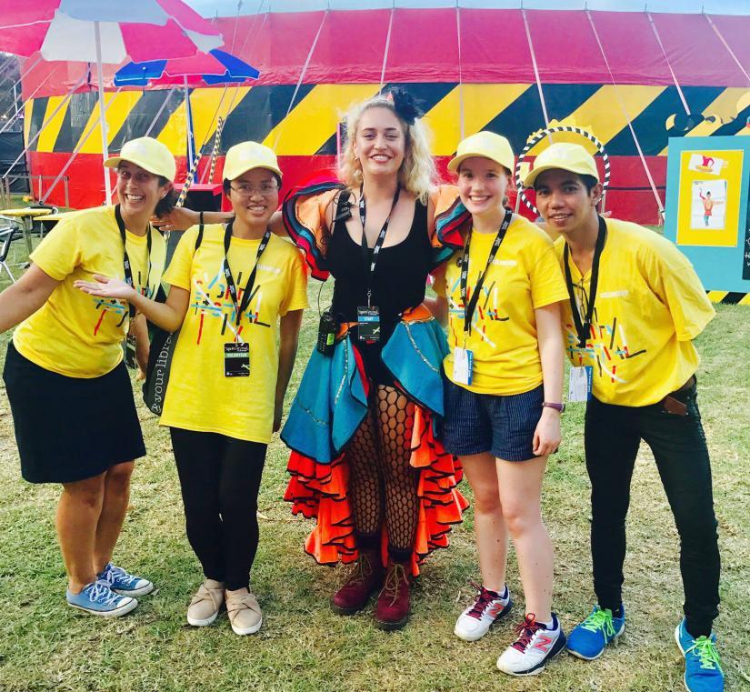 SOUL volunteers at Sydney Festival
