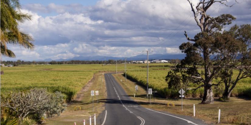 road in regional Australia