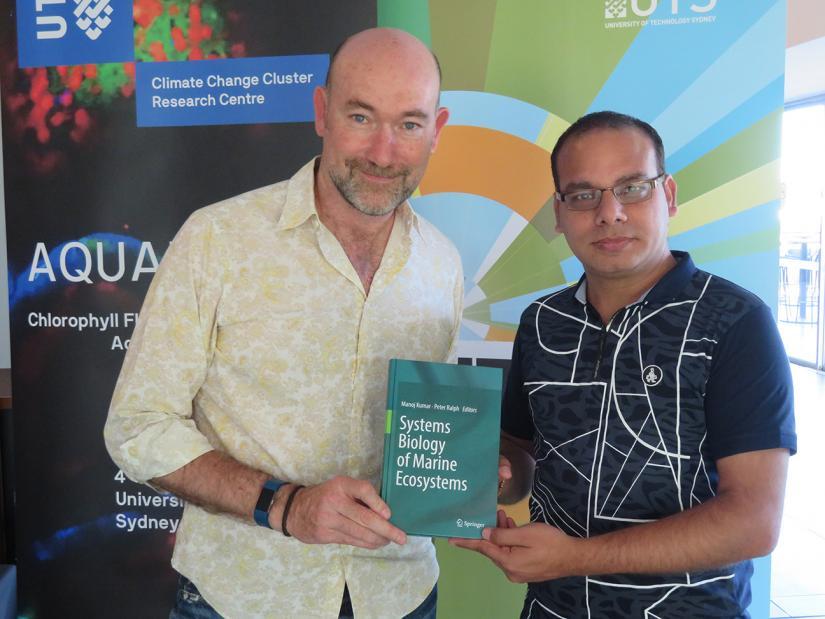 Peter Ralph and Manoj Kumar