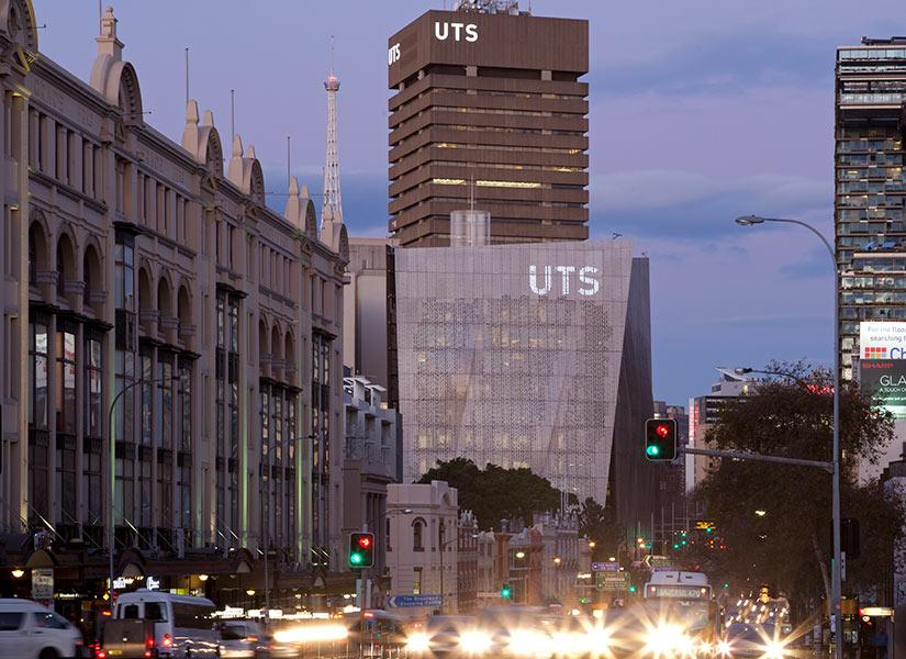 UTS campus from Broadway