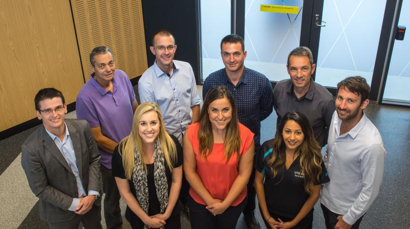 Human Performance Research Centre team
