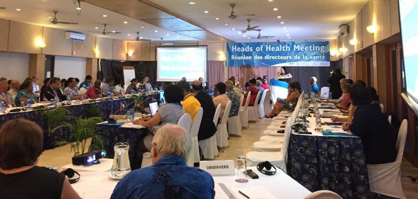 Pacific Heads of Health meeting, Fiji 2017