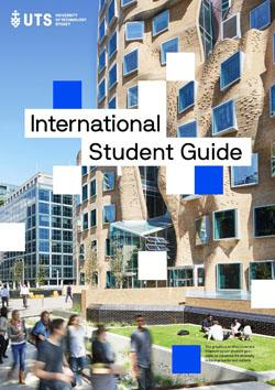 Front cover of UTS International Arrival Guide 2018