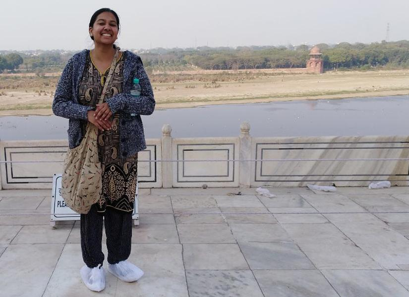 Student, Shareleen in India