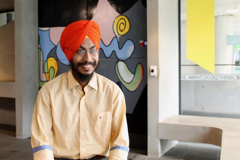 Naindeep Singh Bhatia, International MGMP student from India