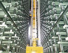 Library Retrieval System, interior