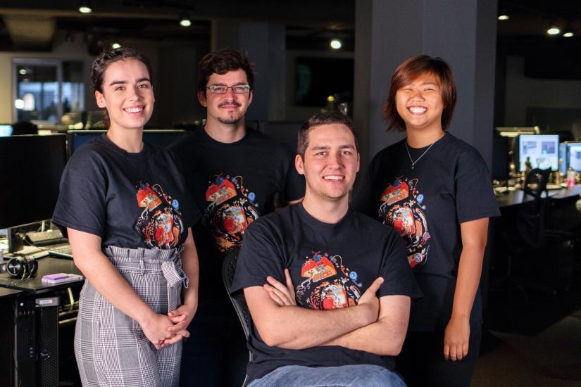 image of UTS Animal Logic crew