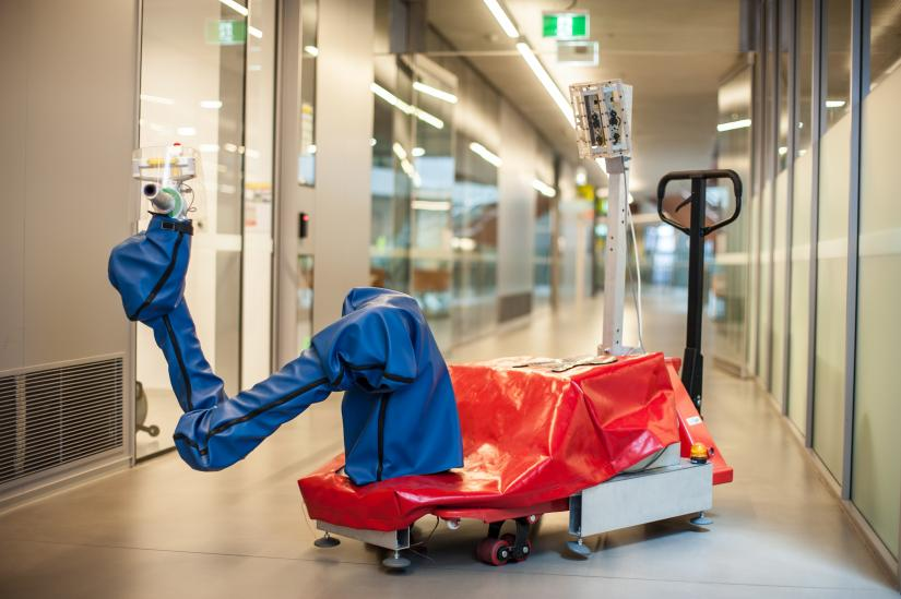 Assistive Robotic System  for Augmenting Human Strength in Industrial Application