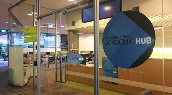 The entry to the former UTS Academic Hub
