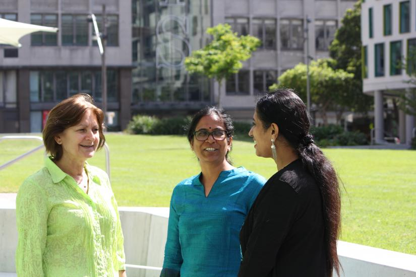 KTP collaboration between Dr Rekha Pappu from Tata Institute of Social Sciences Hyderabad, and Dr Meera Varadharajan and Associate Professor Nina Burridge from UTS, exploring gender and education.