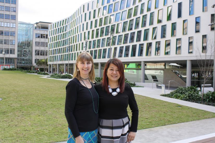 Angela Dawson, Senior Lecturer UTS: Health, working with Professor Regina Lee from Hong Kong Polytechnic University.