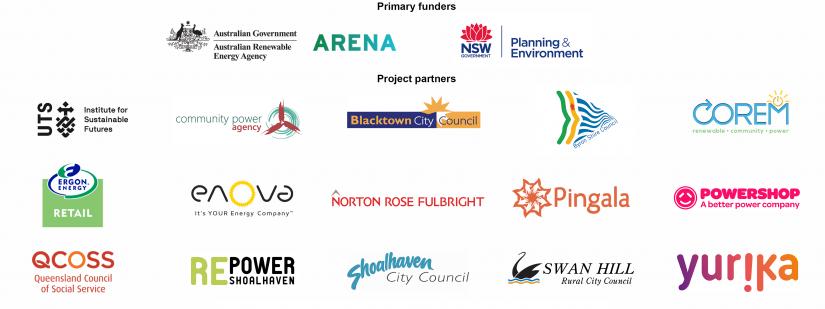 Solar gardens partner logos