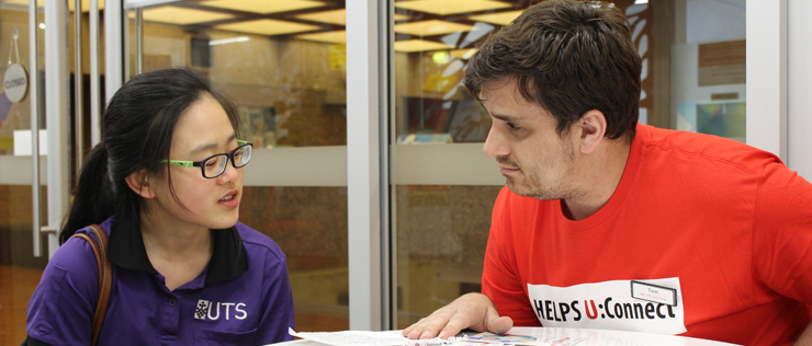 uts helps peer advisor