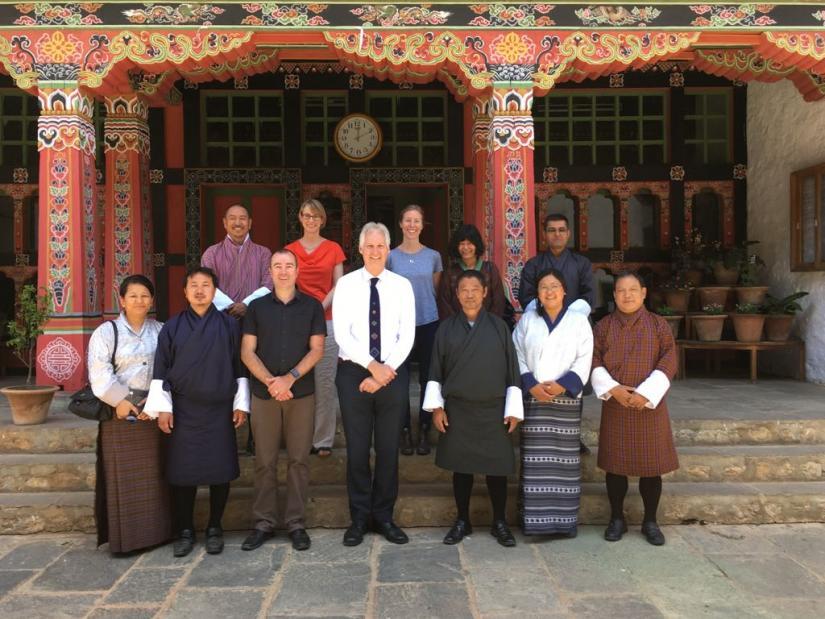 ISF researchers in Bhutan