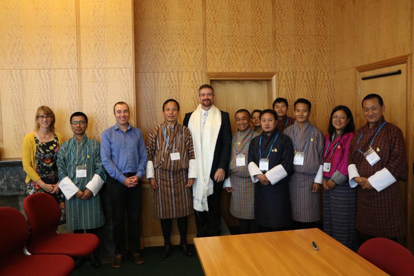 Bhutanese scholars at UTS