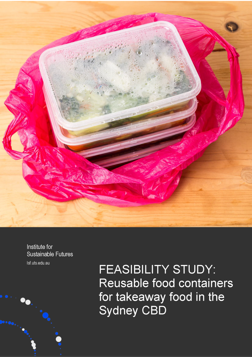 Takeaway containers summary report