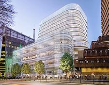 Artist's impression of UTS Central from Broadway