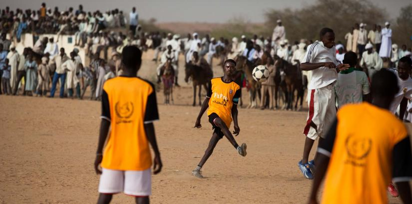 football for peace in Dafur