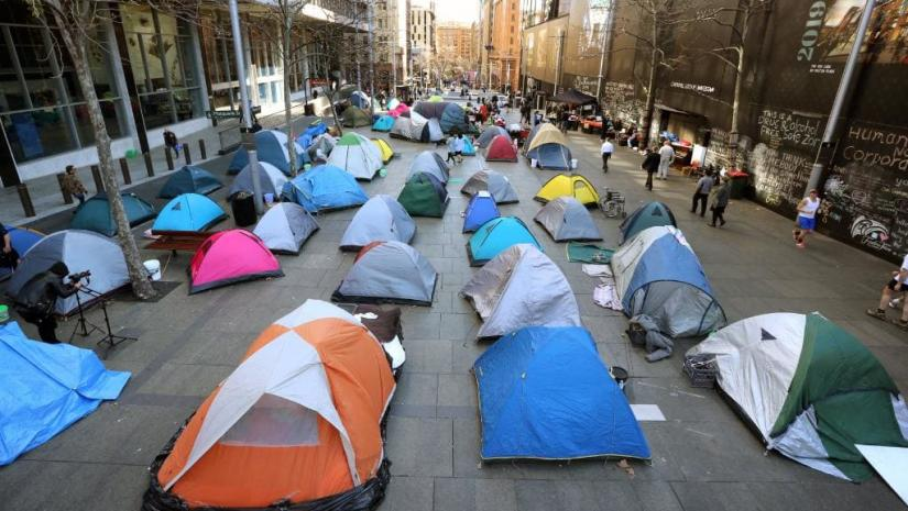 Martin Place Tent City 2017