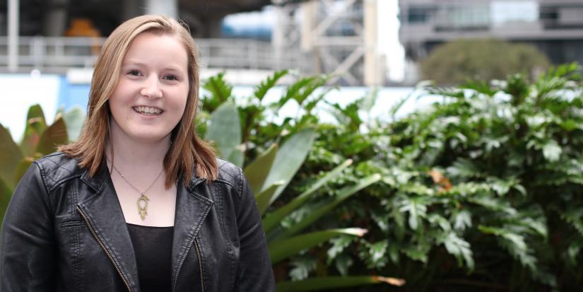 Photo of first year female student, Brenna Nichols
